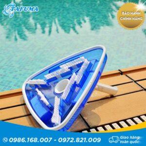 Bàn hút rùa bể bơi bằng nhựa hình tam giác - Tafuma Việt Nam