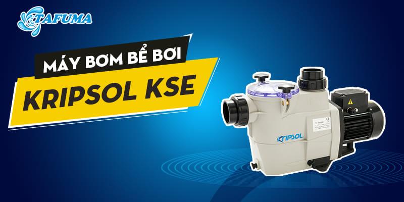 Giới thiệu máy bơm bể bơi Kripsol series KSE