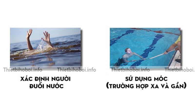 Hướng dẫn móc cứu hộ bể bơi
