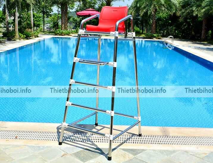 Ứng dụng ghế quan sát bể bơi SA-5