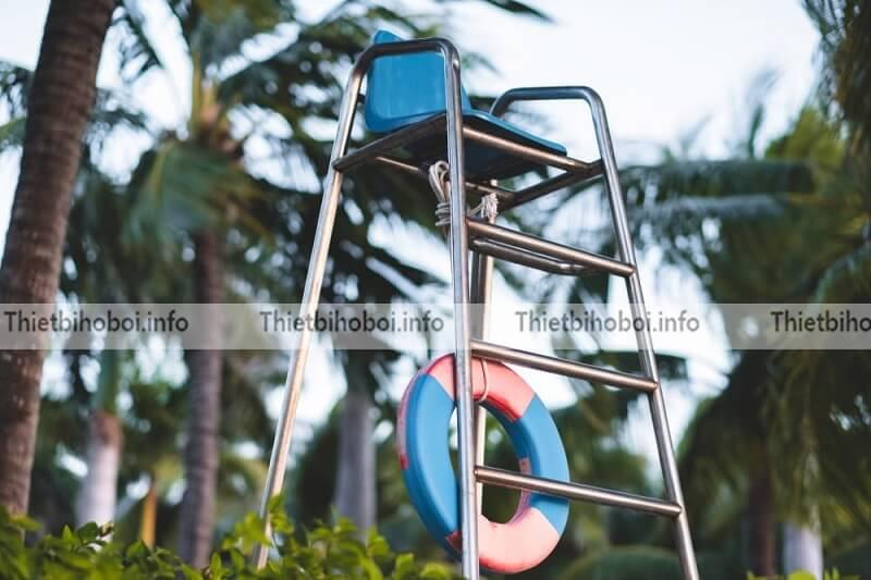 Ứng dụng ghế quan sát bể bơi
