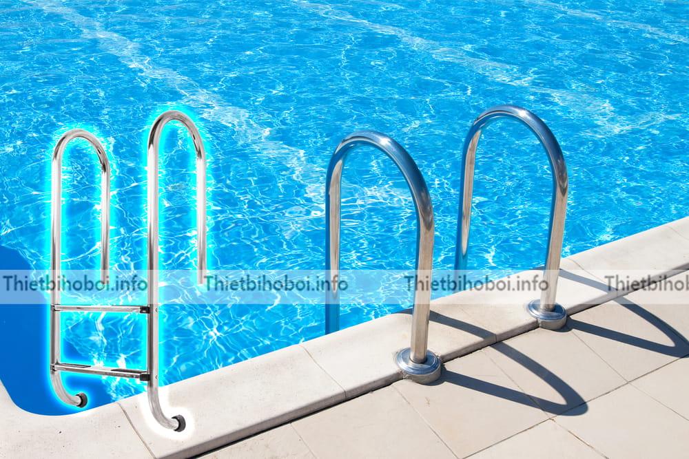 Ứng dụng thang bể bơi Kripsol Im2c