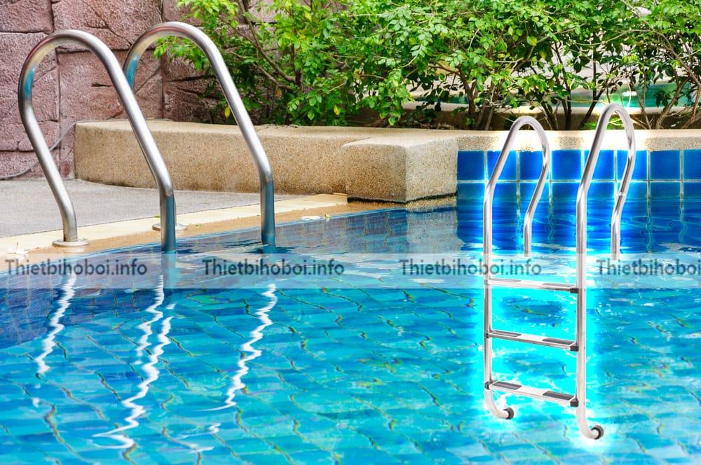 Ứng dụng thang bể bơi Kripsol mxi series