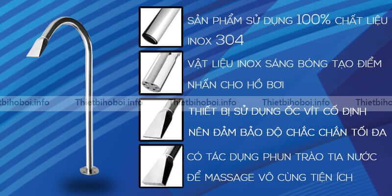 Cây phun massage cực mạnh