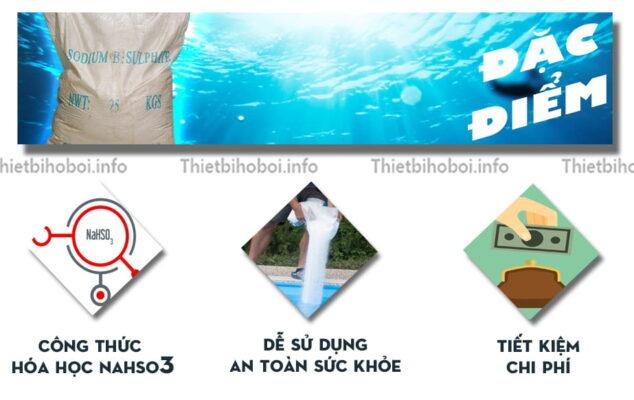 Đặc điểm hóa chất xử lý nước bể bơi PH-