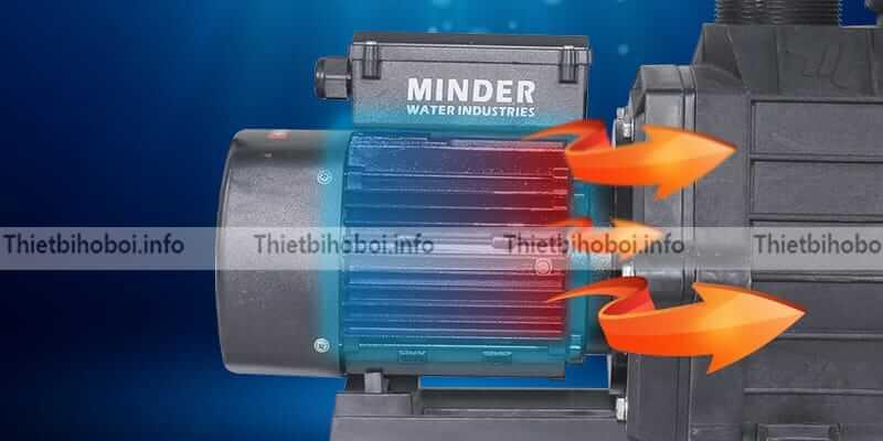 đầu kết nối của máy bơm minder mvp