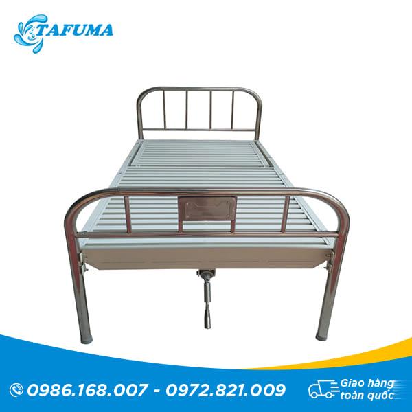 giường inox nâng đâu mẫu 4
