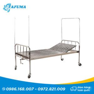 giường inox nâng đâu mẫu 1