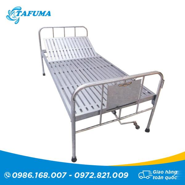 giường inox nâng đâu mẫu 2