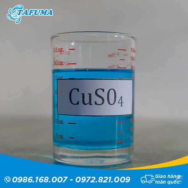 Hóa chất bể bơi đồng nước CUSO4