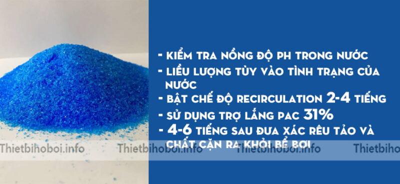 Hướng dẫn sử dụng hóa chất đồng bột CUSO4