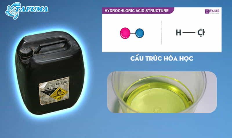 Mô tả Hóa chất bể bơi HCL 32%