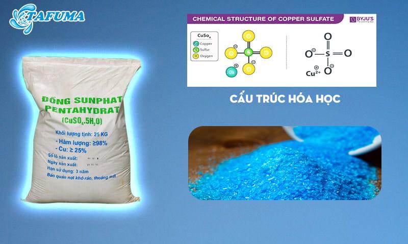 Mô tả hóa chất đồng bột CUSO4