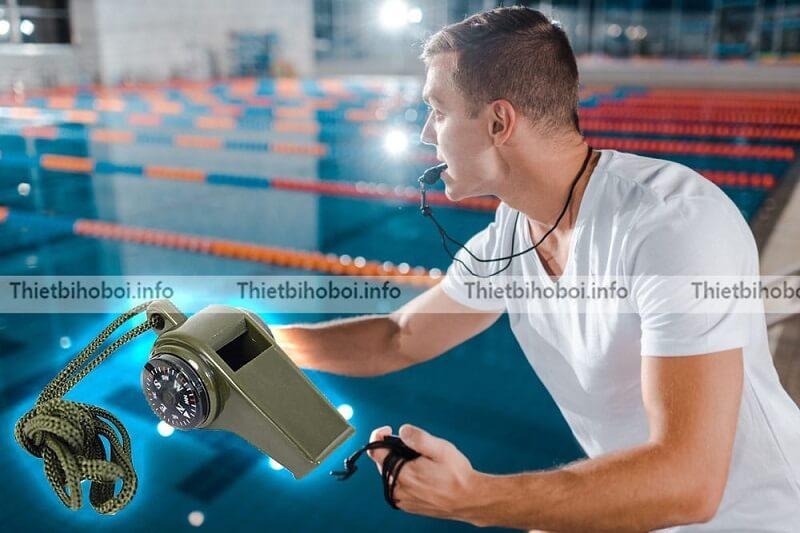 Ứng dụng còi cứu hộ bể bơi