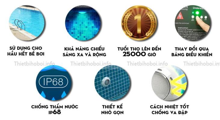 ưu điểm đèn led emaux cp100