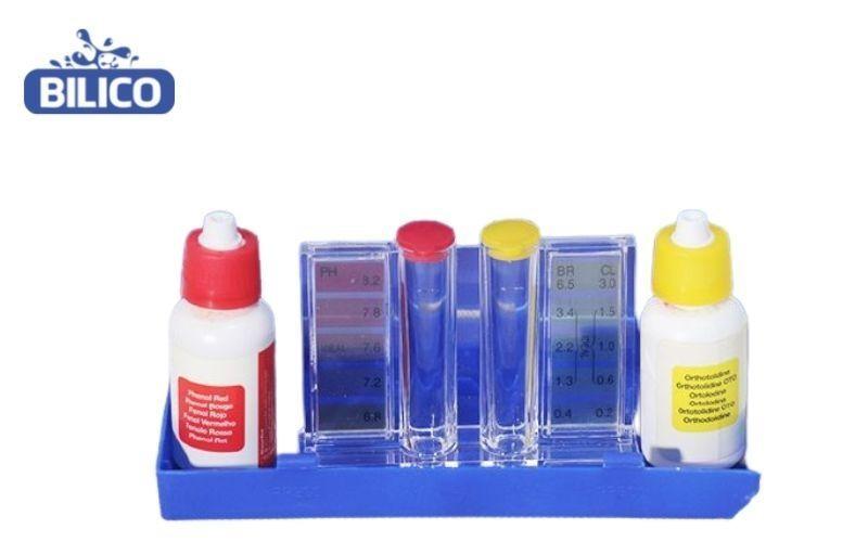sử dụng bộ test thử nước
