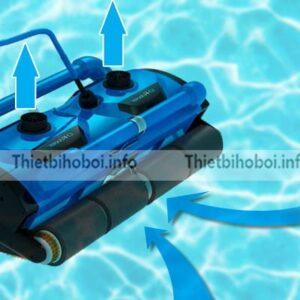 Robot vệ sinh TFC 400H giúp làm sạch bể bơi