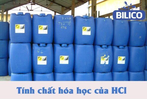 Tính chất hóa học của HCl