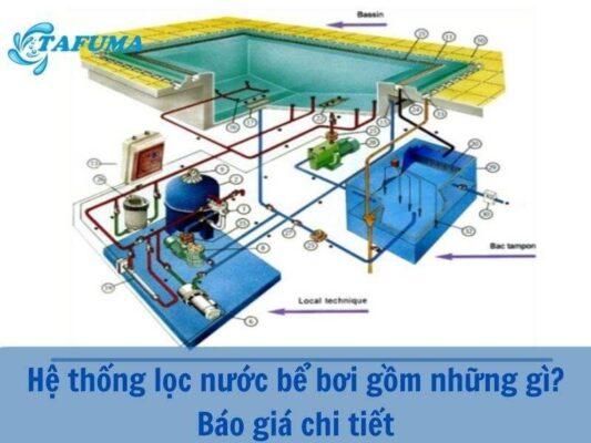 hệ thống lọc nước bao gồm những gì