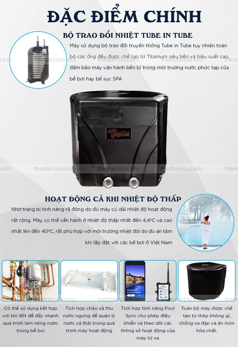 Đặc điểm nổi bật của máy cấp nhiệt T035HRD Mỹ
