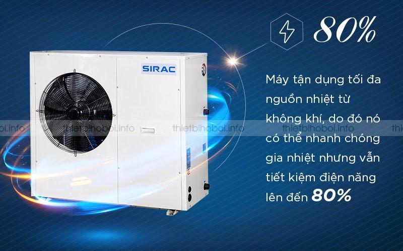 đặc điểm máy cấp nhiệt SIRAC LSQ02RP