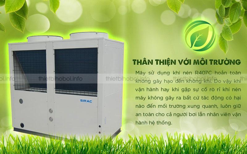 Máy cấp nhiệt SIRAC LSQ04RP thân thiện với môi trường