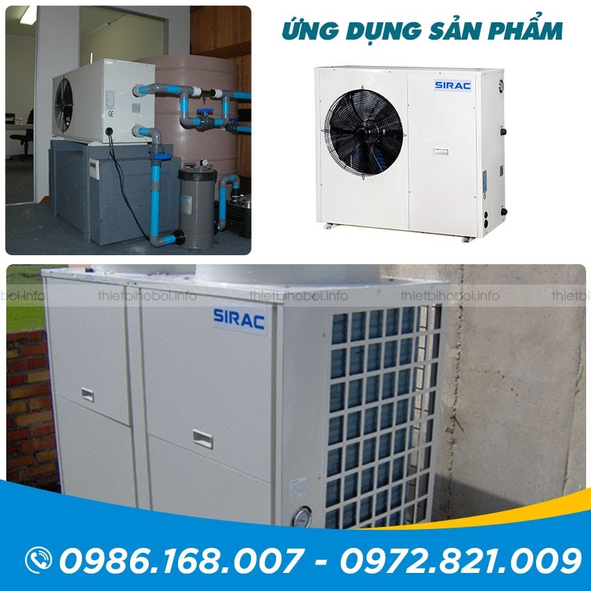 ứng dụng Máy cấp nhiệt SIRAC LSQ02RP