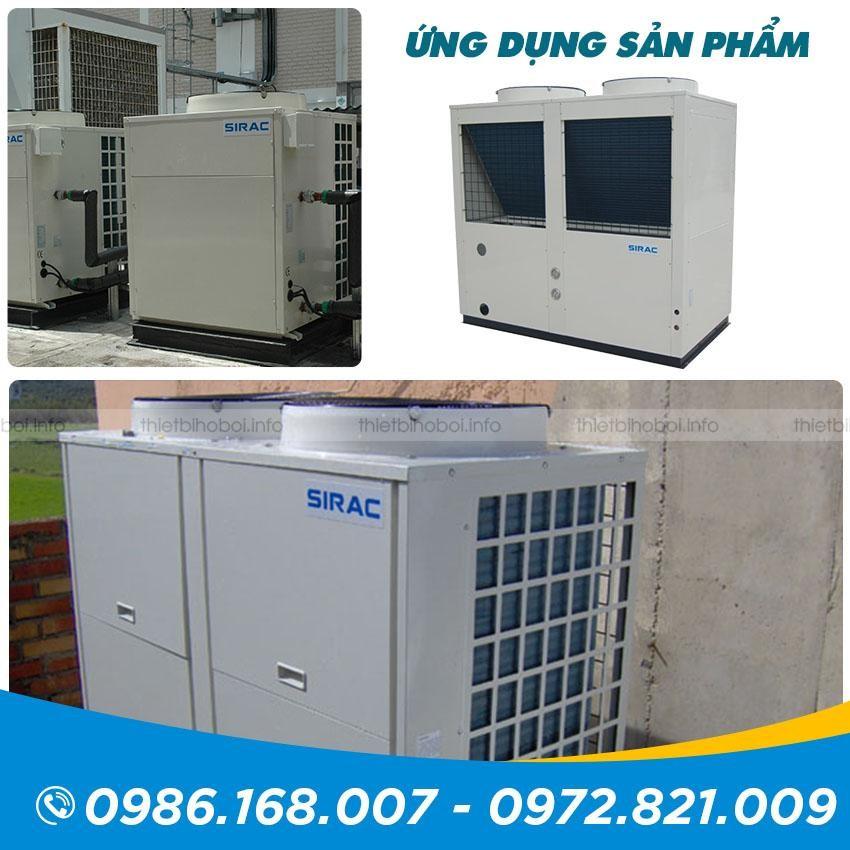 ứng dụng Máy cấp nhiệt SIRAC LSQ04RP