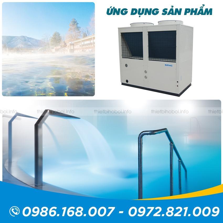 Ứng dụng Máy cấp nhiệt SIRAC LSQ10RP