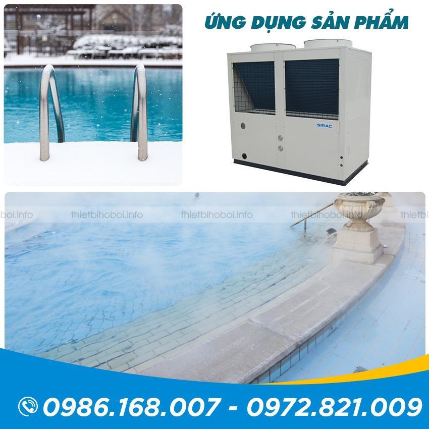 Ứng dụng của Máy cấp nhiệt SIRAC LSQ15RP